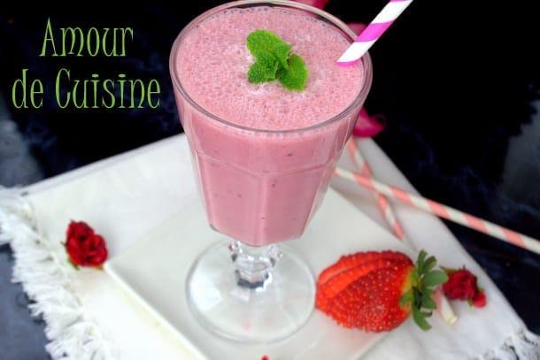 milkshake aux fraises 1