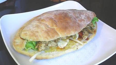 pain pita chez Naila