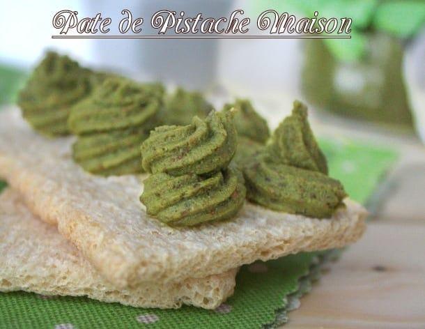 pate de pistache maison
