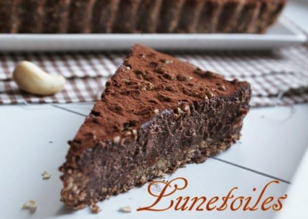 tarte au chocolat sans cuisson - amour de cuisine