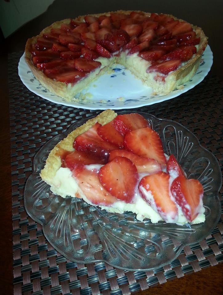 tarte aux fraises Souad T