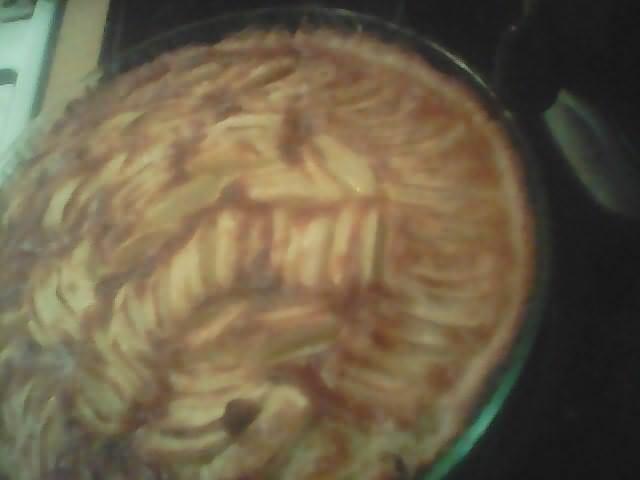 tarte aux pommes malika