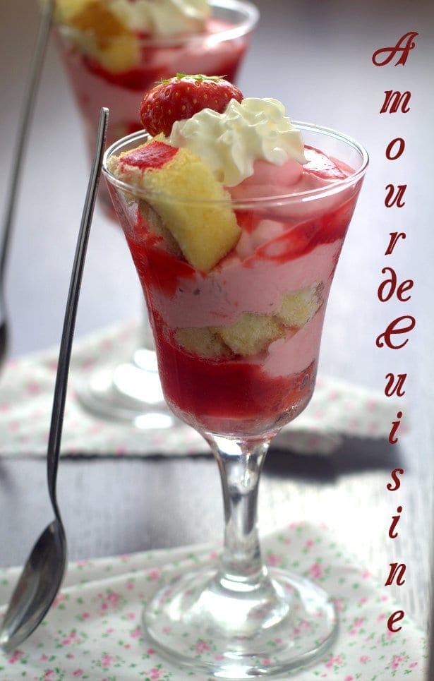 Trifles aux fraises amour de cuisine for Amour de cuisine ramadan 2015
