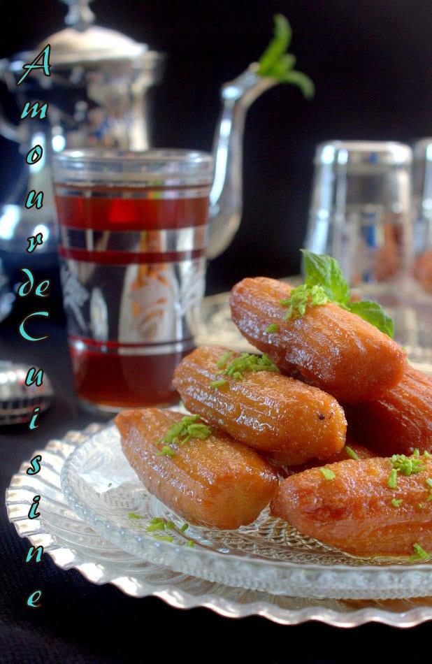 balah el sham, ou tulumba turc au miel