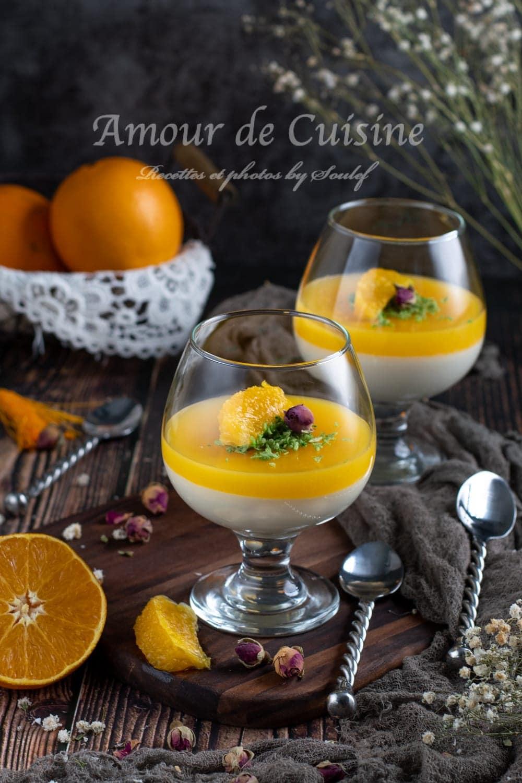 Palouza à l'orange, balouza algerienne