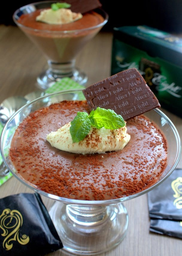creme au chocolat a la menthe After Eight