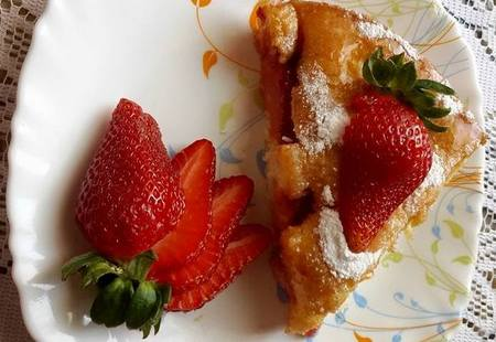 gateau aux fraises 1