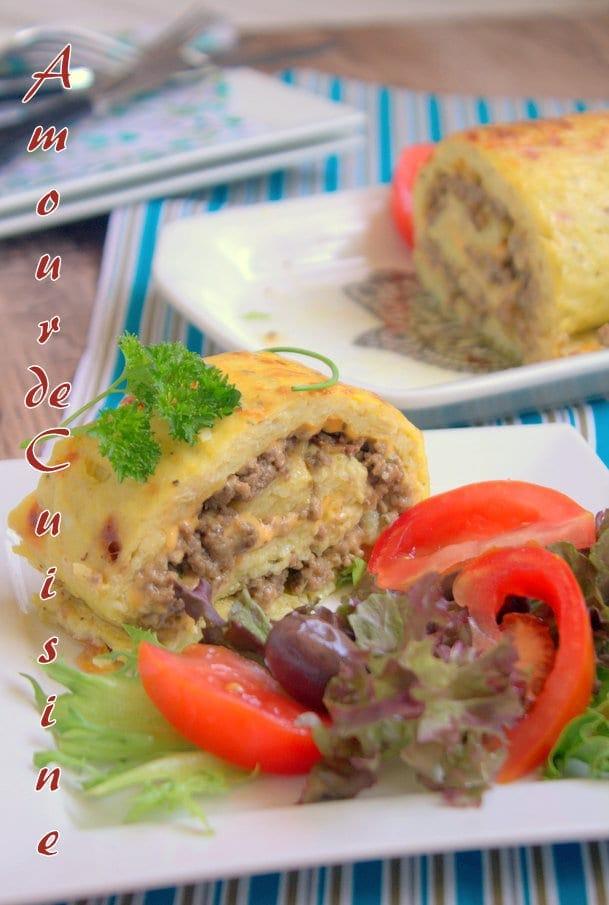roule de pomme de terre a la viande hachee 1