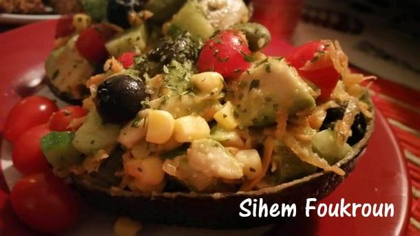 Salade avocat et ma s amour de cuisine for Amour de cuisine de sihem