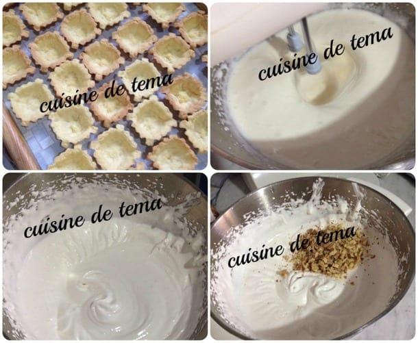 Tartelettes à la crème djouzia