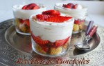 trifles de fraises au mascarpone