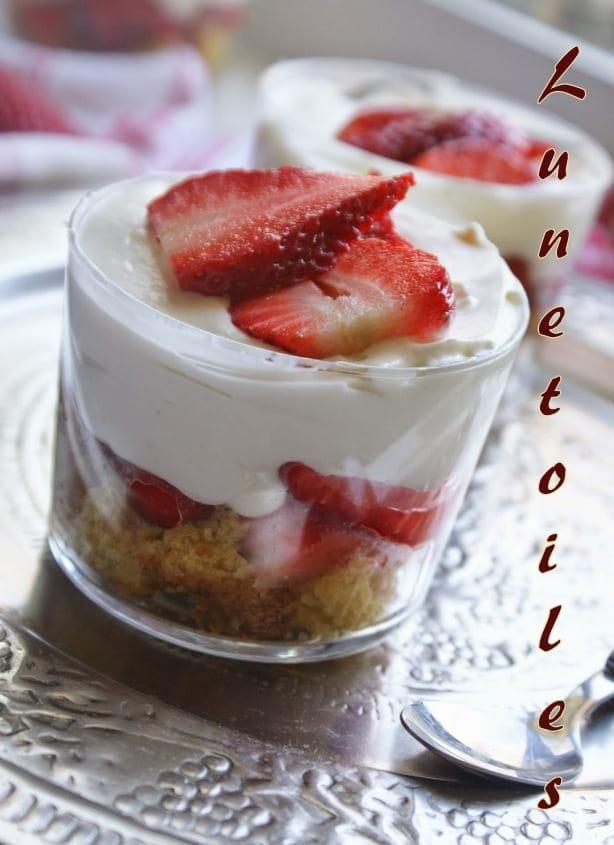 Trifles de fraises au mascarpone amour de cuisine - Cuisine au mascarpone ...