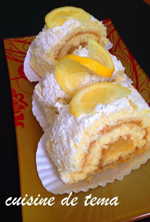 Roulé au citron