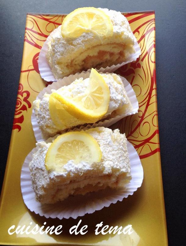 Biscuit roule au citron samira tv meilleur travail des - Samira tv cuisine fares djidi ...