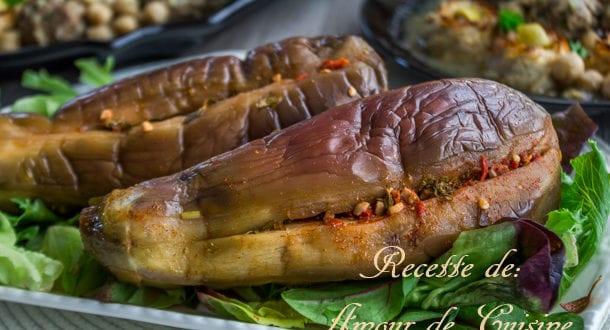 aubergines marinées au vinaigre pour ramadan 2015