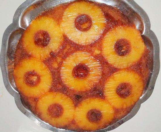gateau renversé a l'ananas