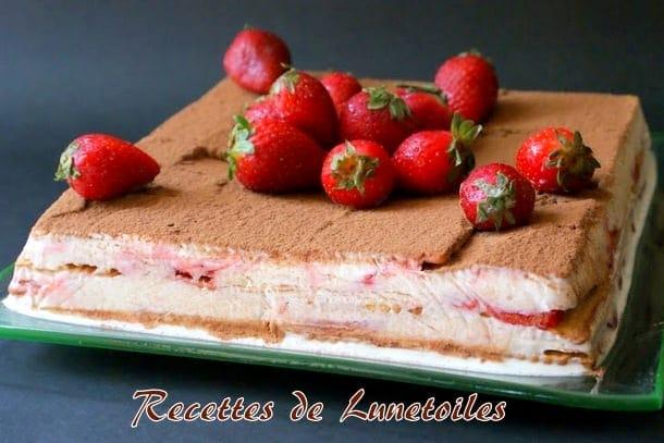 gateaux sans cuisson aux fraises 1