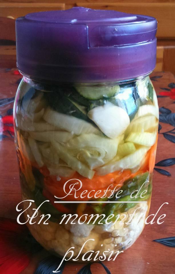 legumes marinés