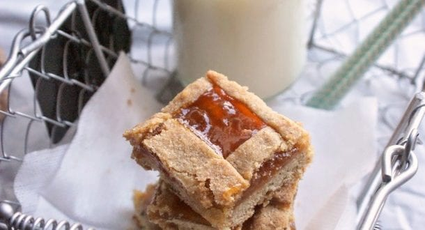 linzer torte noisettes confiture abricots