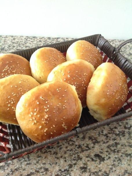 pain burger maison