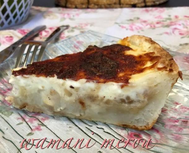 tarte salée sans pate au poulet et pomme de terre - Amour ...