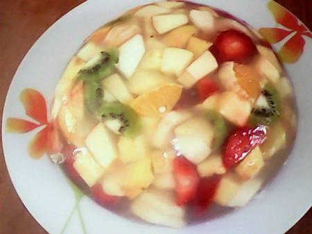 salade de fruit a la gelee