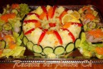 salade de pomme de terre en couronne 1