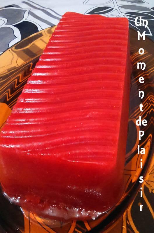 sorbet de fraises et citron 1