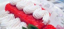 Sorbet de fraises et citron
