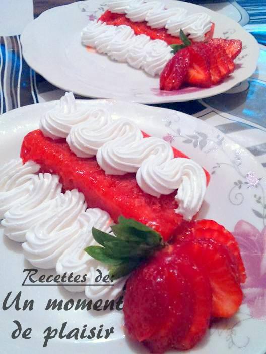 Sorbet de fraises et citron amour de cuisine for Amour de cuisine ramadan 2015