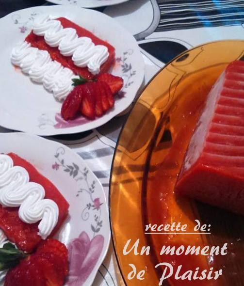 Sorbet de fraises et citron amour de cuisine for 1 amour de cuisine chez soulef