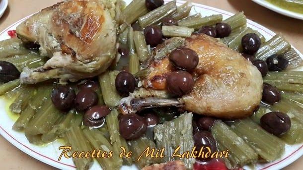 tajine aux cardons et olives