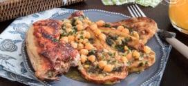 tajine d'aubergines au poulet de la cuisine algerienne