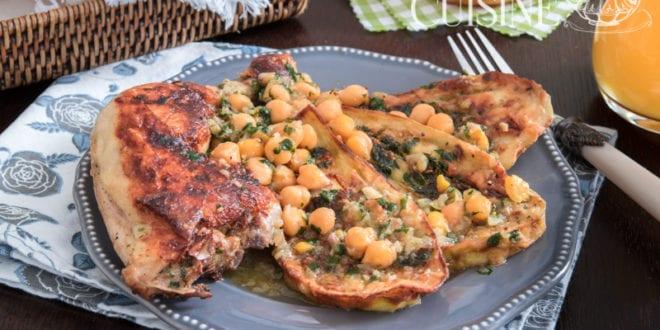 tajine d'aubergines au poulet de la cuisine algerienne 3
