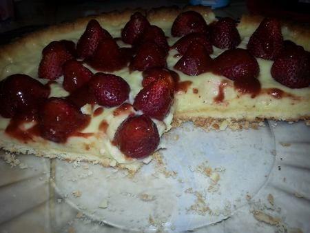 tarte au fraises ma fille
