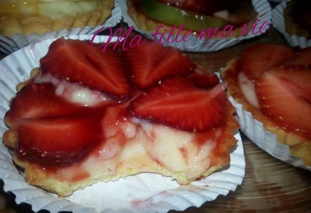 tarte aux fraises ma fille