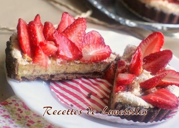 tartelettes meringuees aux fraises 2
