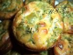 Muffins salés au blanc de poulet 2