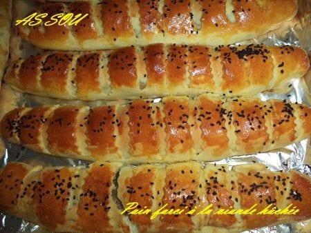 pain farcie a la viande hachee de As sou