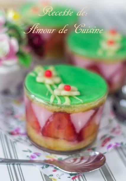 pudding aux fraises 3