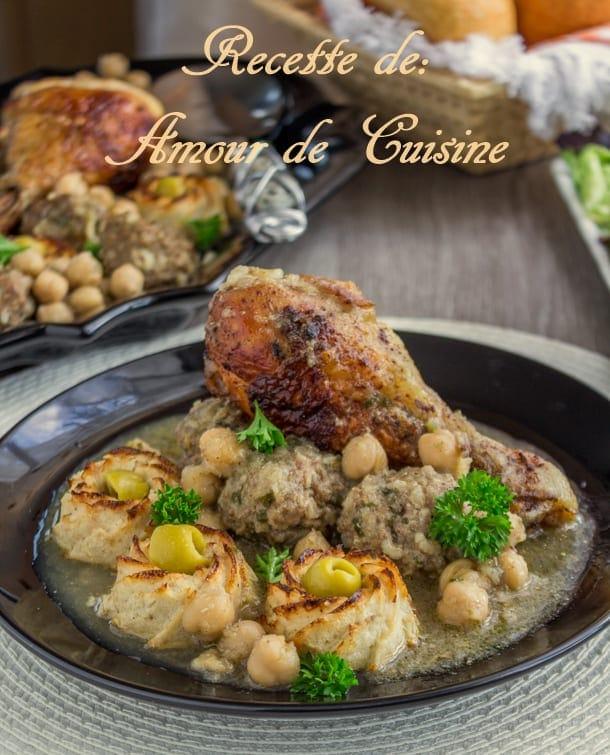Tajine de chou fleur et boulettes de viande hach e amour for Amour de cuisine ramadan 2015