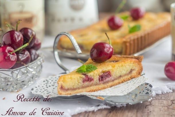 tarte amandine aux cerises 1