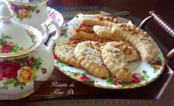 croissants sablés, hlilates