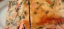 gratin au saumon fumé
