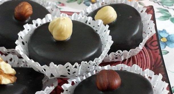 sablés cacahuetes et chocolat