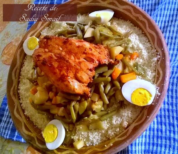 couscous aux haricots vert 1
