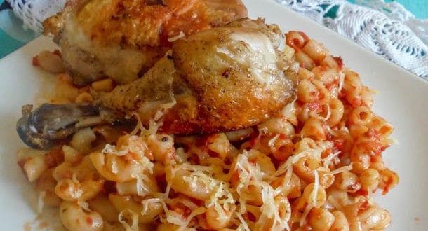 gratin de pates au poulet