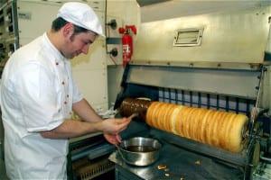 Baumkuchen Schichttort