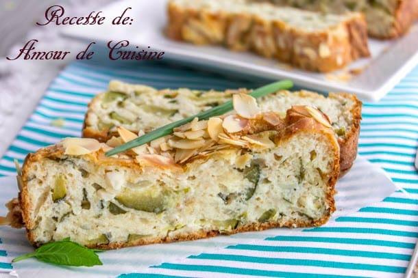 recette pain de courgettes ultra moelleux