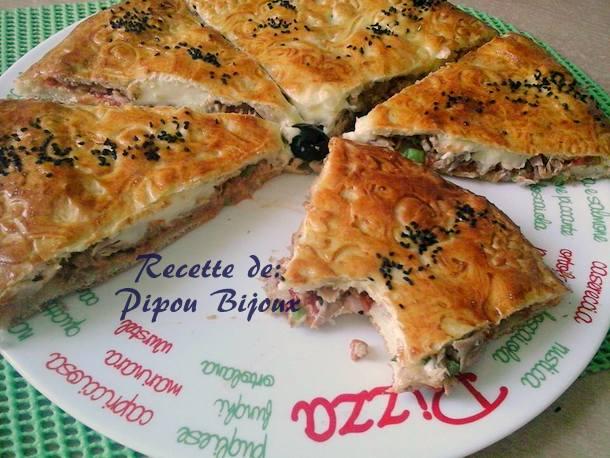 Pizza couverte a la pate magique amour de cuisine for Amour de cuisine arabe